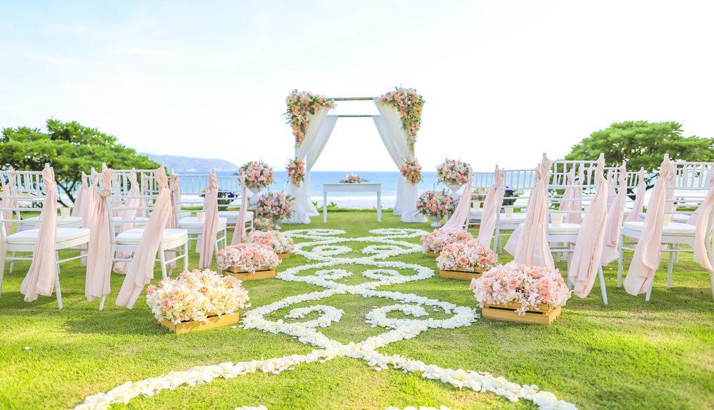 Quel est le budget d'une décoration florale de mariage ?