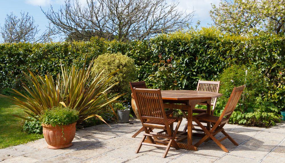 table pour jardin